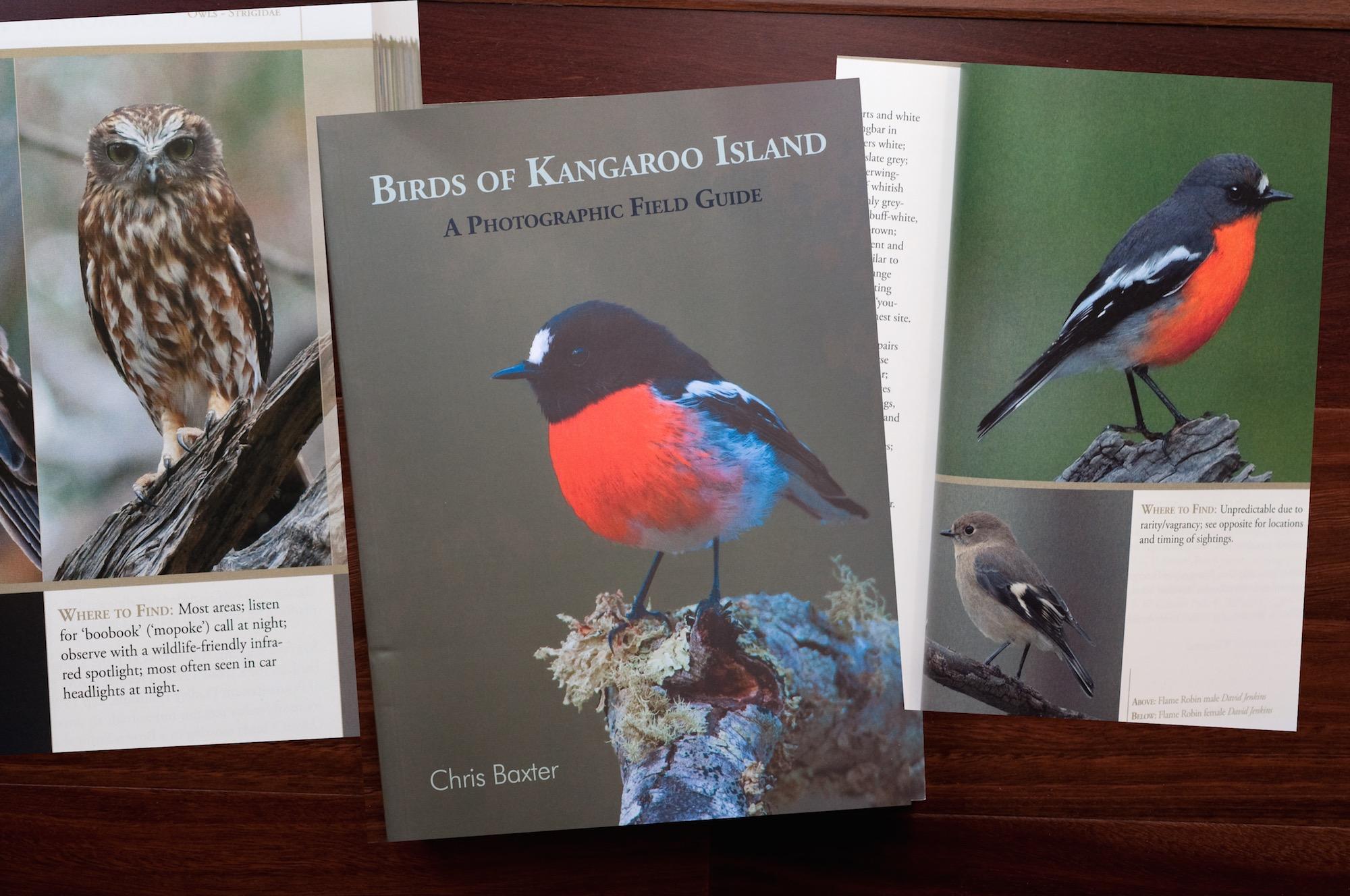 Birds of Kangaroo Island A Photographic Field Guide