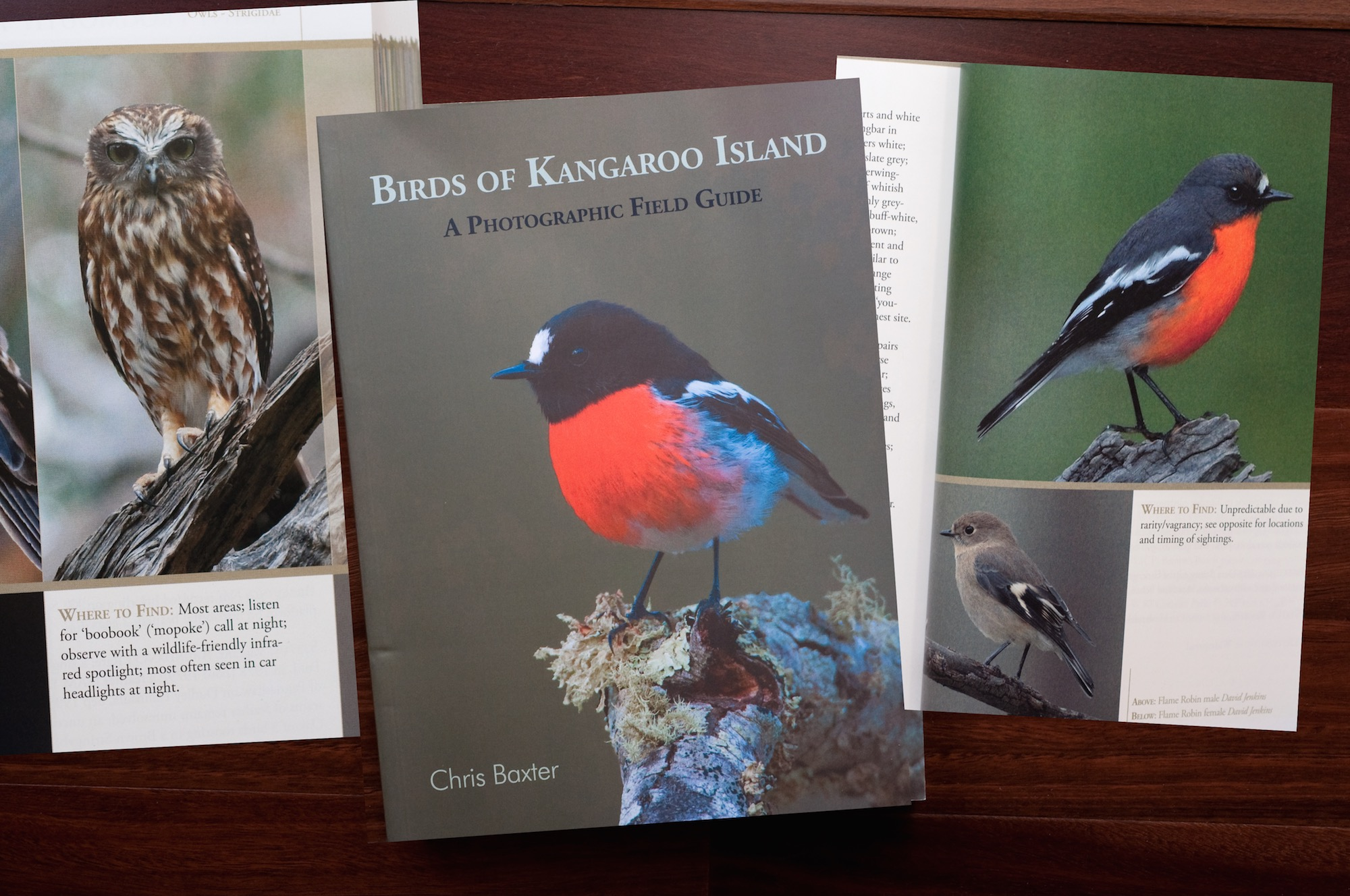 Birds of Kangaroo Island A Photographic Field Guide